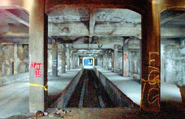 abandoned subway