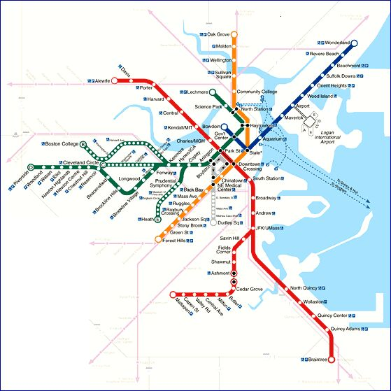 boston light rail transit overview