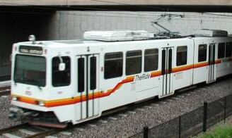 Denver LRT on SW Line