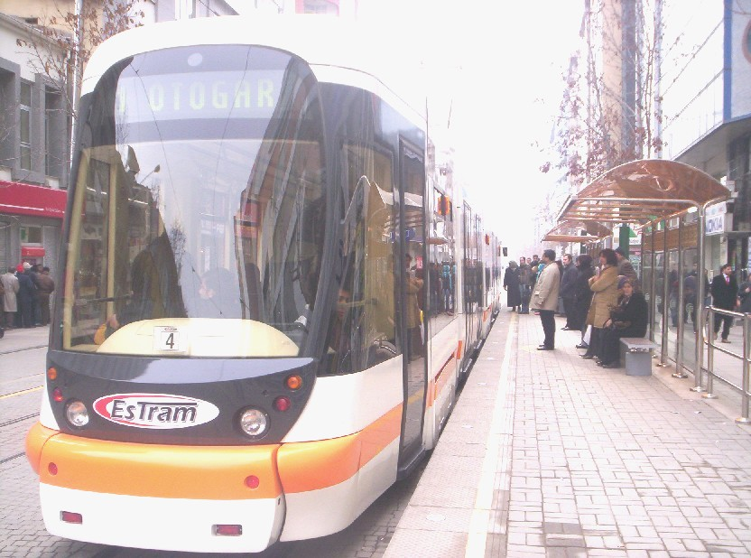 Eskisehir light rail tramway
