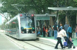 Houston LRT pax