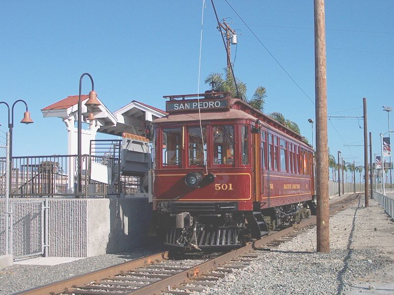 LA San Pedro Red Car station