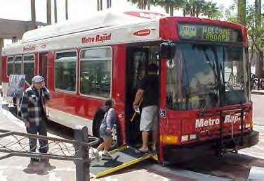 LA MetroRapid bus