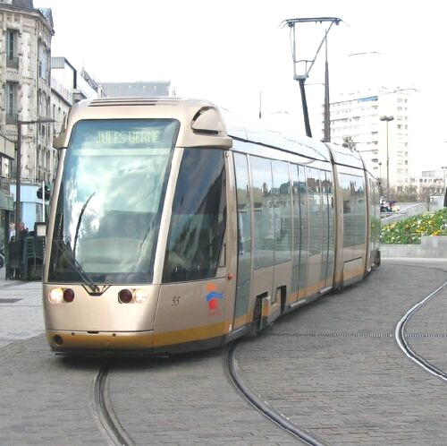 Orleans light rail tramway