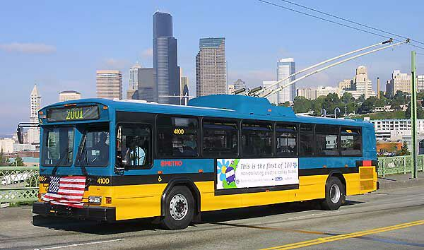 Seattle trolleybus