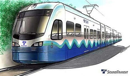 Seattle Monorail Drawing Seattle Link Lrt System
