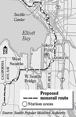 SoDo route map