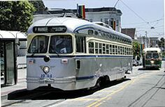San Francisco PCC car