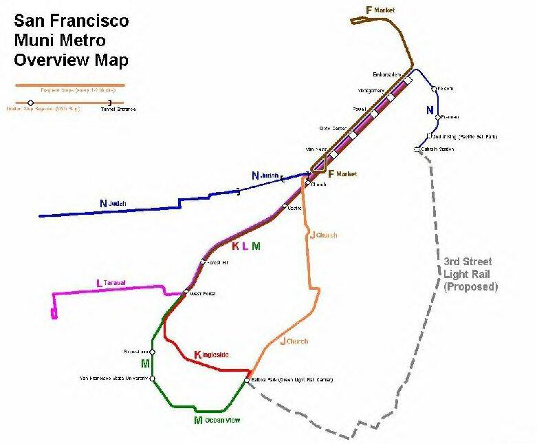 Sf Muni Route Map