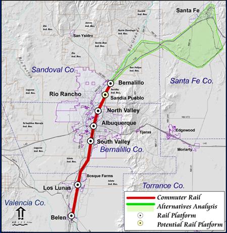 Albuquerque To Santa Fe >> Map Albuquerque To Santa Fe Bnhspine Com