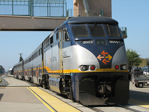 Amtrak Capitol Corridor train