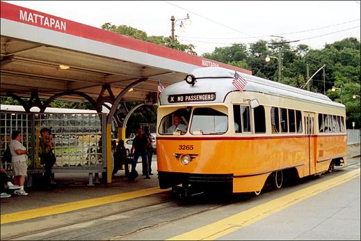 Boston PCC car
