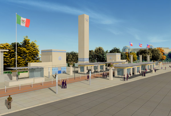 Fair Park station rendering
