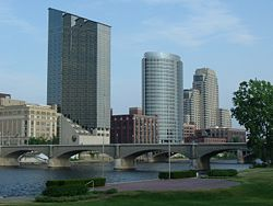 Grand Rapids cityscape