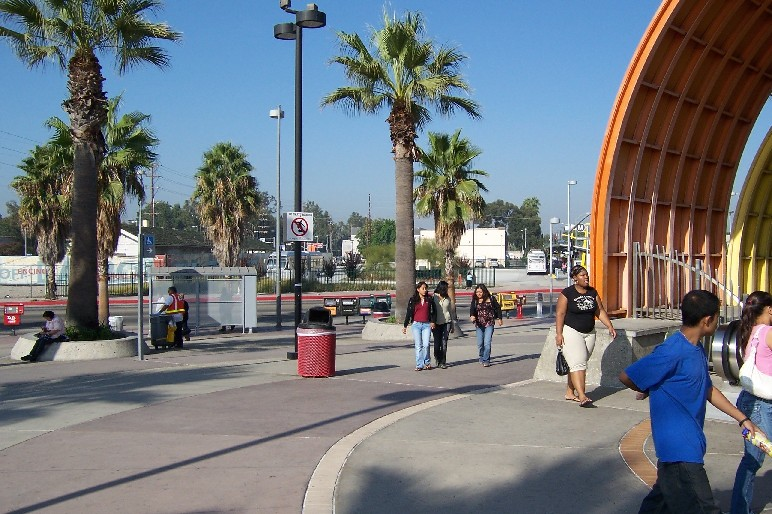 Los Angeles Orange Line Busway Light Rail Now