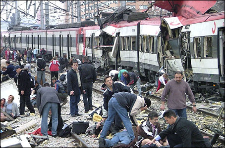 Madrid train bombing