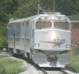 Music City Star train