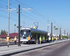 Phoenix LRT construction