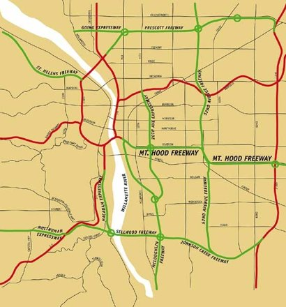 Portland freeway plan