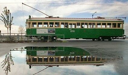 Waterfront streetcar