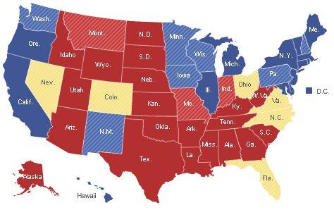 Electoral Map 2008